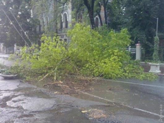 ВОдессе всвязи сураганом создан оперативный штаб